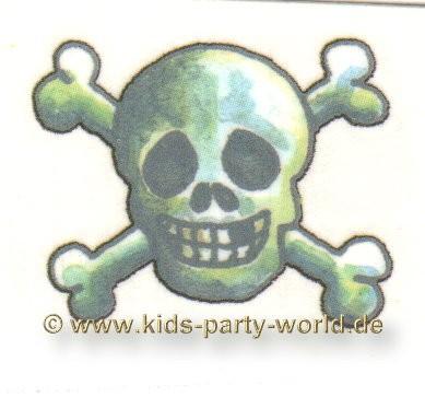 Dieser freche Dameonen Totenkopf ist mit dem. Bild Mini Tattoo Totenkopf