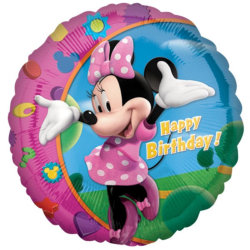 Minnie Maus Ballons