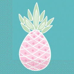 Ananas Pastell Party