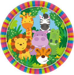 bunte Kinder Safari