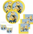 52 Teile Minions Party Deko Set