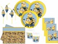 69 Teile Minions Party Deko Set für 16 Personen