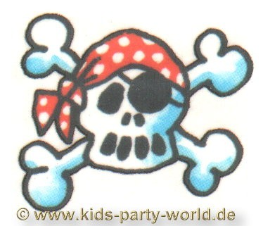 Mini tattoos pre cut suitable for boys and girls. Mini Tattoo Totenkopf