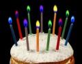 12 bunte Flammen Zauber Kerzen