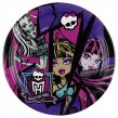 8 kleine Party Teller Monster High 2