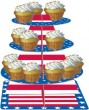 USA Muffin Etagere