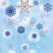 16 Schneeflocken Servietten