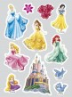 Disney Princess 11 essbare Zuckersticker