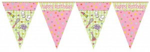 Pyjama Party Wimpel Banner