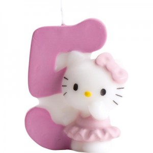 Hello Kitty Kerze 5