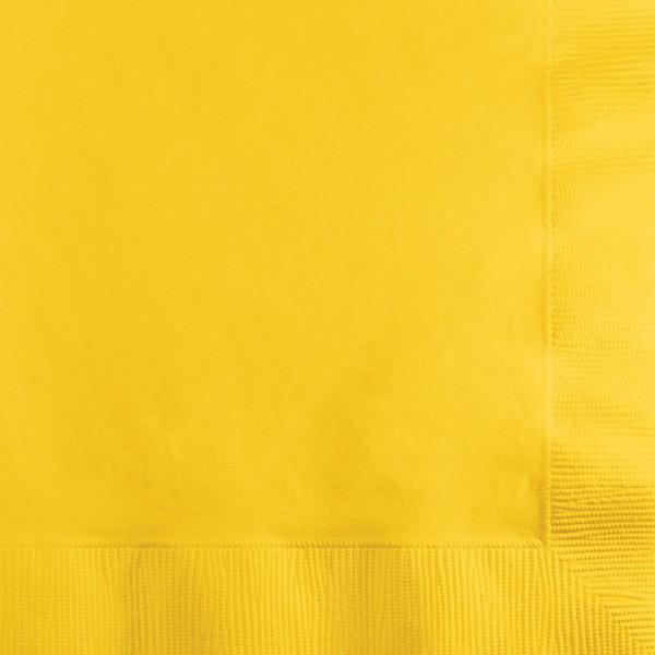 20 Servietten Sonnen Gelb