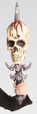Totenkopf Deko Schwert