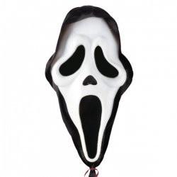 Folienballon Scream Maske