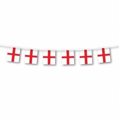 England Flaggen Girlande