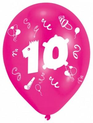 Luftballons 10 geburtstag - Geburtstagsbilder zum 25 ...