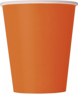 14 Papp Becher Orange
