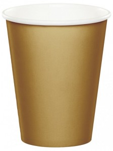 24 Papp Becher Gold
