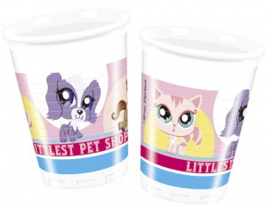 8 Littlest Pet Shop Becher