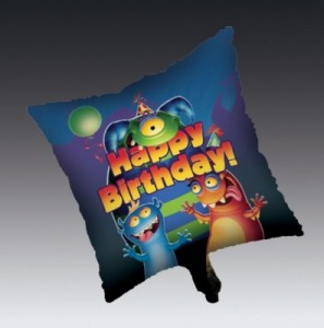 Monster Party Folien Ballon