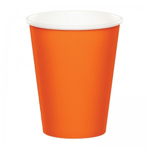 24 Papp Becher Orange