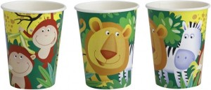 8 Safari Becher