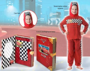 Playama Disney Cars Pyjama