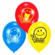 6 Smiley Ballons