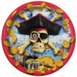 8 Bounty Piraten kleine Teller