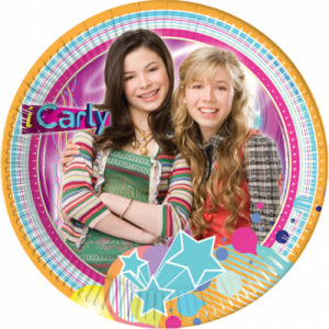 10 iCarly kleine Party Teller