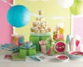 Muffin Party Folien Ballon