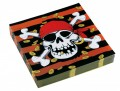 20 Jolly Roger Servietten