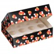 Muffin Gebäck Box Halloween Candy Corn