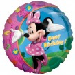 Minnie Maus Geburtstags Folienballon
