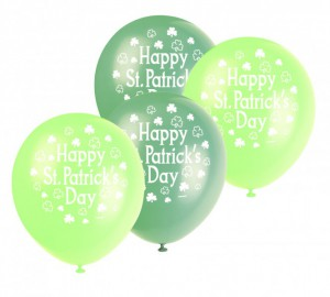 8 St. Patrick's Day Ballons