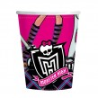 8 Monster High Becher