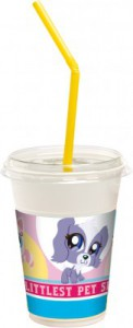 12 Milchshake Becher Littlest Pet Shop