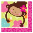 16 Monkey Love Servietten