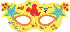 6 Micky Maus Party Masken