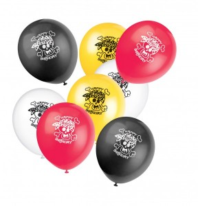 8 Piraten Spaß Luftballons