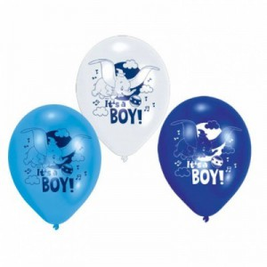 6 Dumbo Party Ballons
