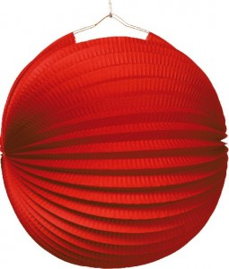 Lampion in Rot