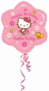 Hello Kitty Geburtstags Folien Ballon