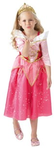 Disney Princess Sleeping Beauty Glitzer Kostüm