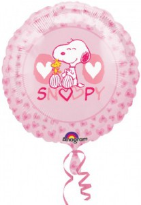 Snoopy Love Folienballon