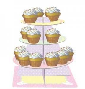 Muffins Etagere Osterhase