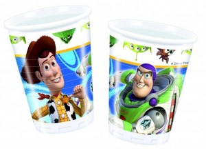 10 Toy Story Party Becher