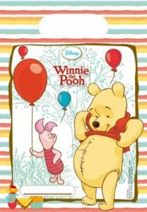 6 Winnie Puuh Sweet Tweets Party Tüten