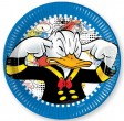 8  Disney Donald Duck  kleine Teller