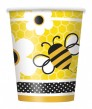 8 Becher Bienchen Party