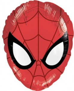 Spiderman Maske Folien Ballon